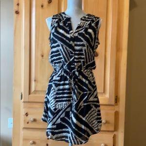 Gap Sleeveless Drawstring Waist Dress - S